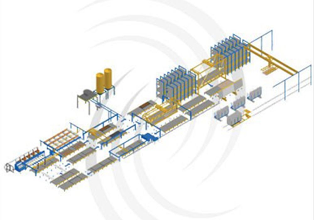 Control Systems for pallet circulation systems with Master-System